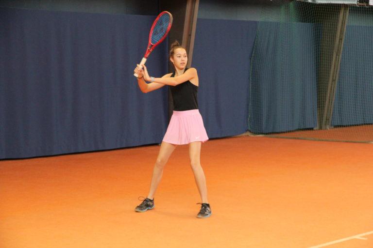 Halbfinaleinzug von Mia in Seefeld