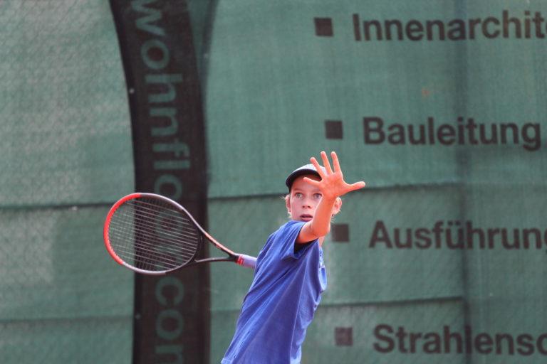 Junior Open: Turnierstart