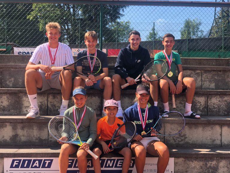 TC Bludenz räumt bei den Jugend Landesmeisterschaften ab!